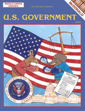 U.S. Government Reproducible Book, Grades 6-9