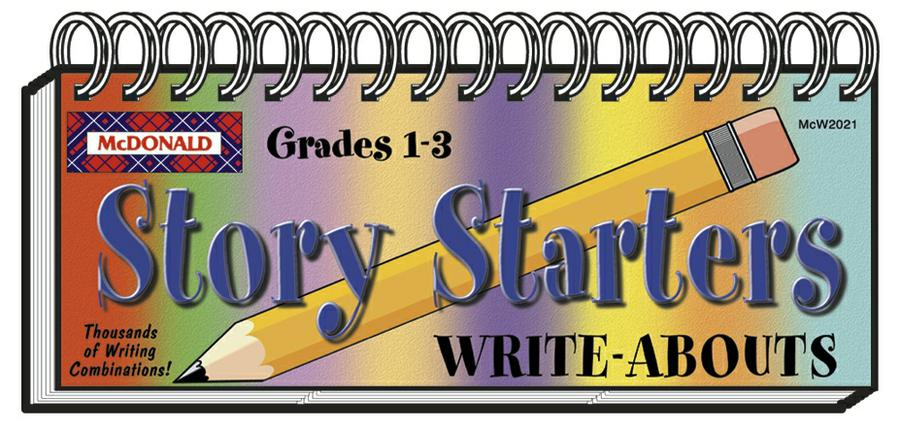 Story Starters Write-Abouts, Grades 1-3