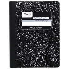 Composition Notebook, 100 Sheets, 9 3/4 x 7 1/2""