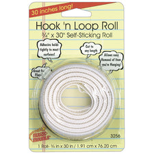 "Hook 'n Loop Roll, 3/4"" x 30"""