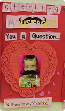 I Moustache You To Be My Valentine - Art Activity with FREE Printables