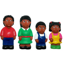 Get Ready Kids: Set of 4 African American Family Figures
