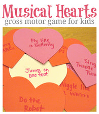 Valentine's Day Musical Hearts Game