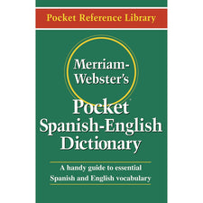Merriam-Webster's Pocket Spanish - English Dictionary