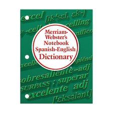 Merriam-Webster's Notebook Spanish English Dictionary
