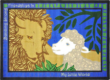 "My Little World© Kid's Play Room Rug, 3'10"" x 5'4"" Rectangle"