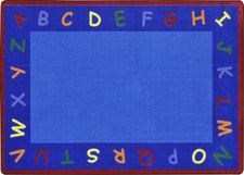 "New Beginnings© Classroom Circle Time Rug, 7'8"" x 10'9"" Rectangle"