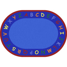 "New Beginnings© Classroom Rug, 5'4"" x 7'8"" Oval"