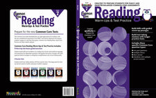Common Core Reading Warm-Ups and Test Practice Grade 7