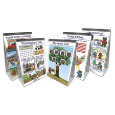 New Path Learning Social Studies Readiness Flip Chart Set - Set of 5