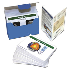Earth Science Vocabulary Builder Flash Card Set
