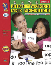 Sight Words Phonics Book 1 Gr Pk-1