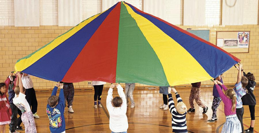 Parachute, 12' Diameter With 12 Handles