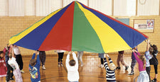 Parachute, 20' Diameter With 16 Handles