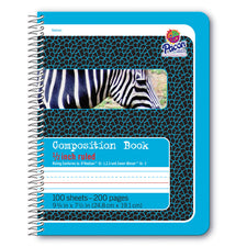 Pacon® Spiral Bound Composition Book, 9-3/4″ x 7-1/2″, 1/2″ Short Way Ruled