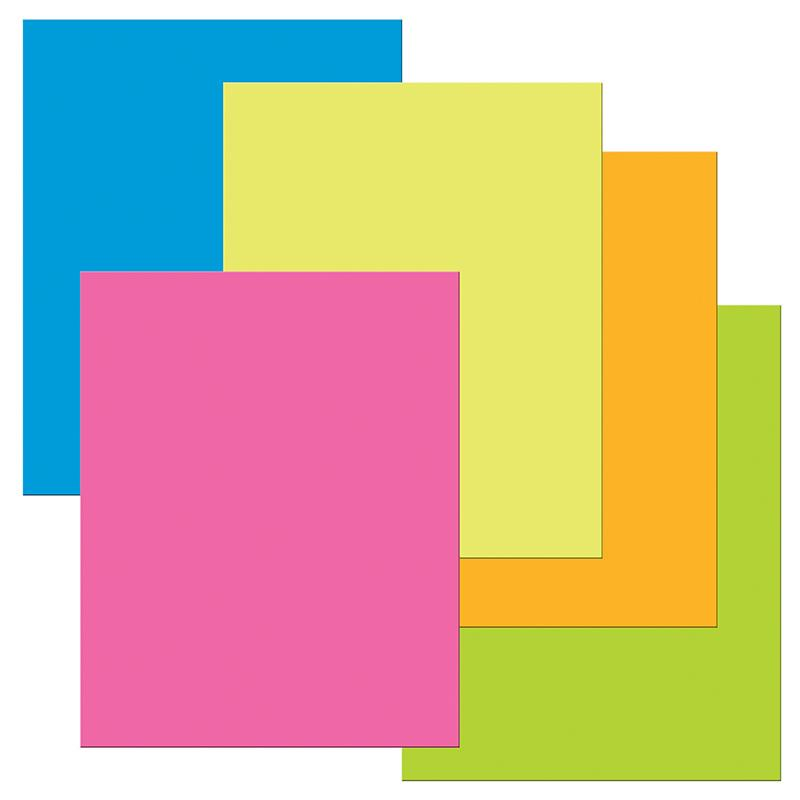 "Pacon® The Heavy Poster Board, 22"" x 28"" Assorted Neon (25 Sheets)"