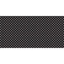 Fadeless® Classic Dots Black & White Paper Roll, 48″ x 50′