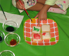 Painting Cookies: A Yummy Painting Experience!