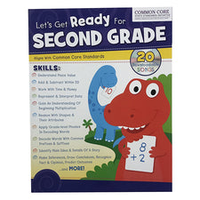 Let's Get Ready for Second Grade Workbook
