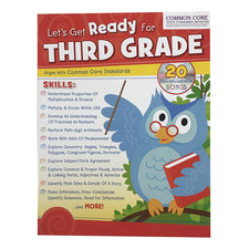 Let's Get Ready for Third Grade Workbook