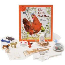 The Little Red Hen 3-D Storybook