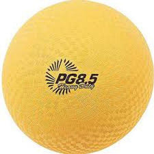 Playground Ball 8 1/2In Yellow