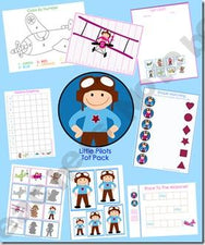 Little Pilot Preschool Pack