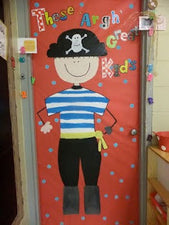 Argh Your Ready For First Grade?! - Pirate Themed Back-To-School Boards