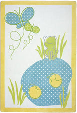"Polka Dot Pool© Kid's Play Room Rug, 3'10"" x 5'4"" Rectangle"