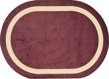 "Portrait© Classroom Rug, 7'8"" x 10'9""  Oval Heather"
