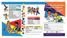 Pre Kindergarten Progress Report For 4 & 5 Year Olds,10Pk