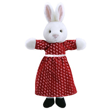 Dressed Animal Puppet: Mrs. Rabbit