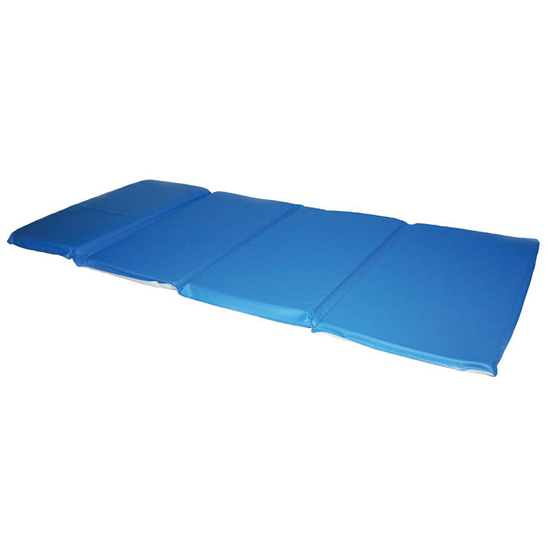 "Toddler Foldable KinderMat, Blue & Gray, 3/4"" x 21"" x 46"" (No Pillow)"