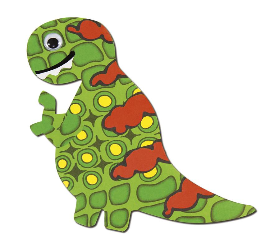 Royco Dinosaur Design Paper, 40 Sheets, 8 1/2 x 11, 8 Designs