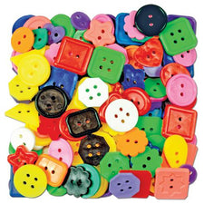 Craft Buttons Assorted 1 Lb Pk