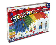 Roylco® Straws & Connectors®, 400 Pieces
