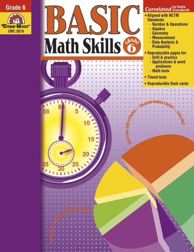 Basic Math Skills Gr 6 | EMC3019 – SupplyMe