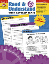 Read & Understand with Leveled Texts, Grade 3