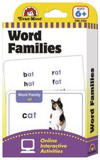 Flashcards: Word Families