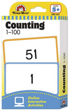 Flashcards: Counting 1-100