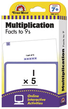 Flashcards: Multiplication Facts to 9s
