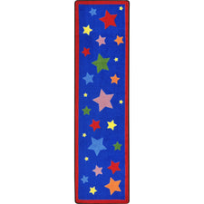 "Reading Superstars™ Classroom Runner, 2'1"" x 7'8"" Rectangle"