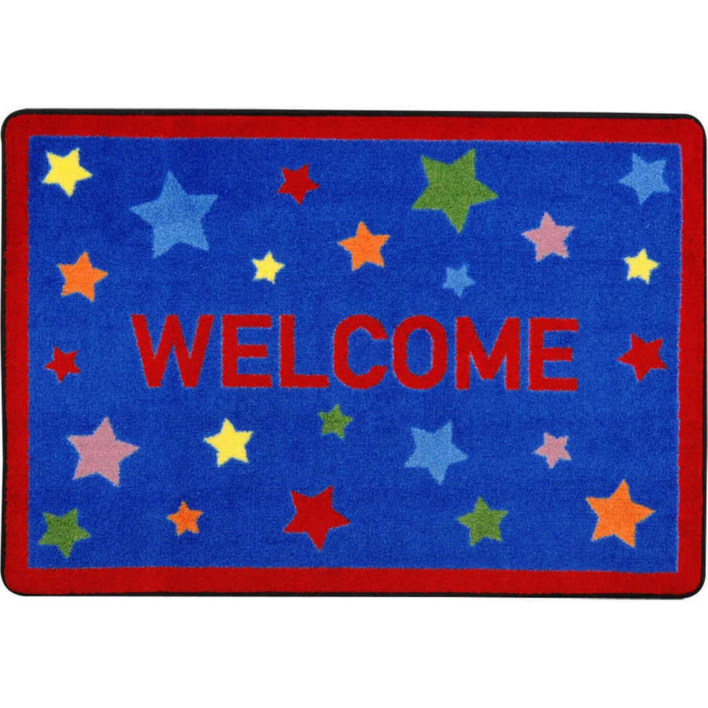 "Reading Superstars™ Classroom Mat, 2'8"" x 3'10"" Rectangle"