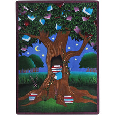 "Reading Tree™ Classroom Carpet, 5'4"" x 7'8"" Rectangle"