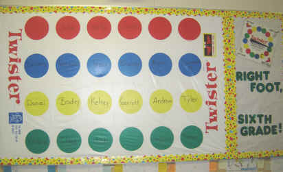 A Little Fun With Twister 174 Back To School Bulletin