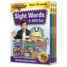 Rock 'n Learn Sight Words, 3 DVD Set