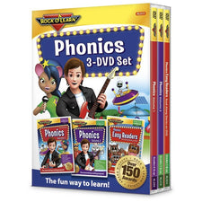 Rock 'n Learn Phonics, 3 DVD Set