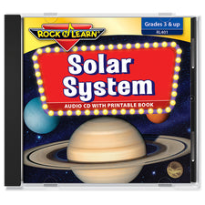 Solar System (audio & printable book)