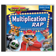 Rock 'n Learn Multiplication Rap CD