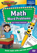 Math Word Problems Test Taking Strategies DVD Gr 3-4